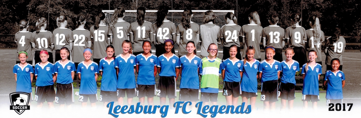 3b22277a4 Leesburg FC Legends – a 2005 (Fall  19 U15) girls team competing in the  NCSL.